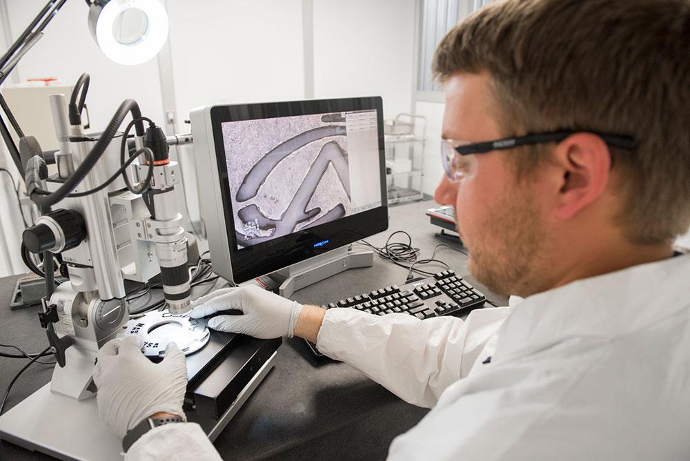 Lab Tech in Process Lab