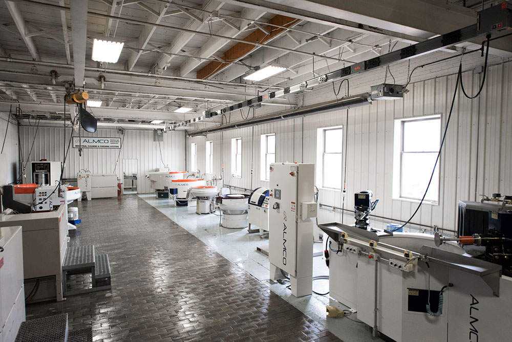 Overview of Almco's Machine Lab