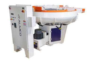 Image of Almco's LR Series Round Bowl Finishing Machine