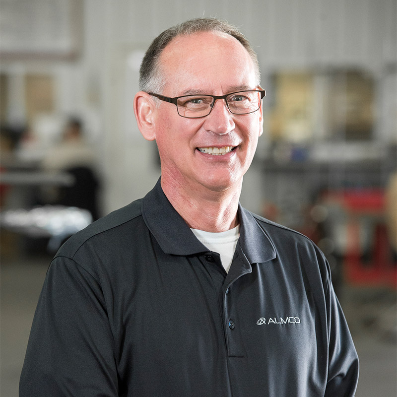 Image of Almco Team member Doug Brown, Lab Manager