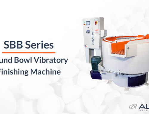 SBB Series Round Bowl Vibratory Finishing Machine