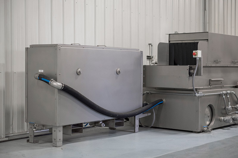 Inline Washer With Coalescar